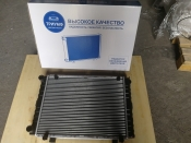 Радиатор охлаждения двигателя 3302 н/о 2-х ряд. ТРИУМФ
